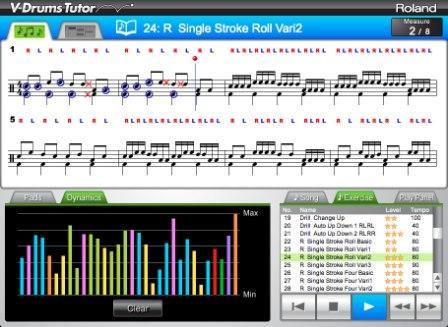 E-Drum_V-Tutor_Software_Unterricht_fuer_Anfänger_schlagzeug_lernen_unterricht_muenster