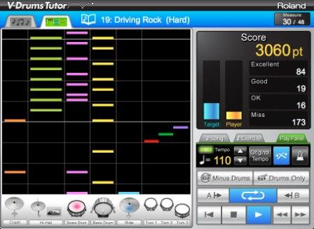 E-Drum_V-Tutor_Mac und PC Software