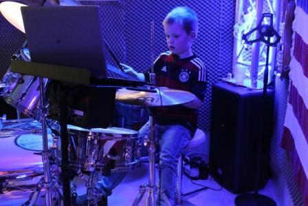 Die Unterrichtsräume - Schlagzeugunterricht in Münster