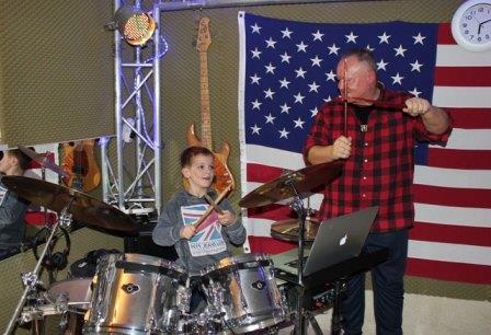schlagzeugunterricht muenster kinder - Kinder ans Schlagzeug